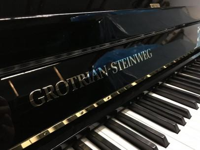 Grotrian-Steinweg 112 M schwarz poliert von 1992 in Schwarz glänzend