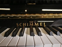 Schimmel International I-119 Tradition von 2016 in Schwarz poliert