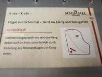 Schimmel K 195 Tradition von 2016 in Schwarz poliert