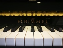 Schimmel Konzert K 132 Tradition von 2015 in Schwarz poliert