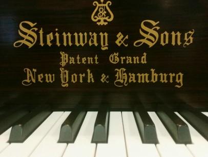 Steinway & Sons A von 1900 in Palisander matt