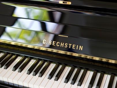 Bechstein Concert 8 von 2006 in Schwarz glänzend